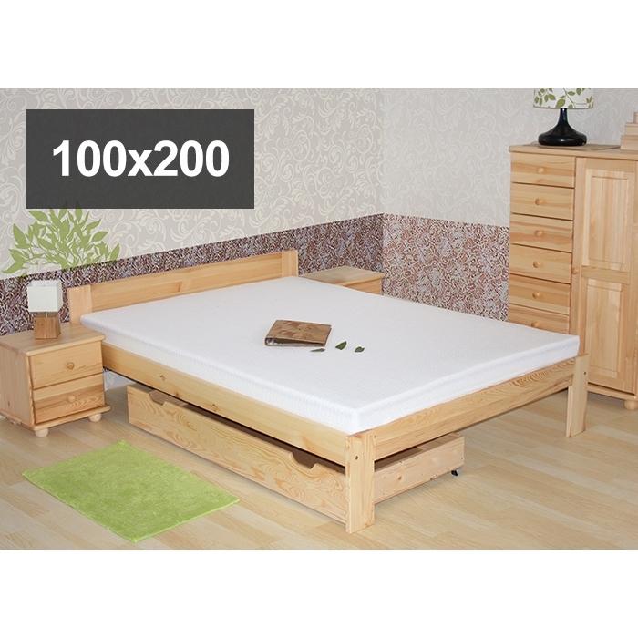 łóżko Sosnowe Model N 100x200